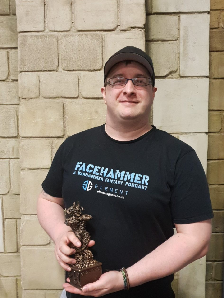 Picked up Bronze in the Large Model category at Golden Demon!
