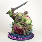 Nurgle Great Unclean One Sword and Flail