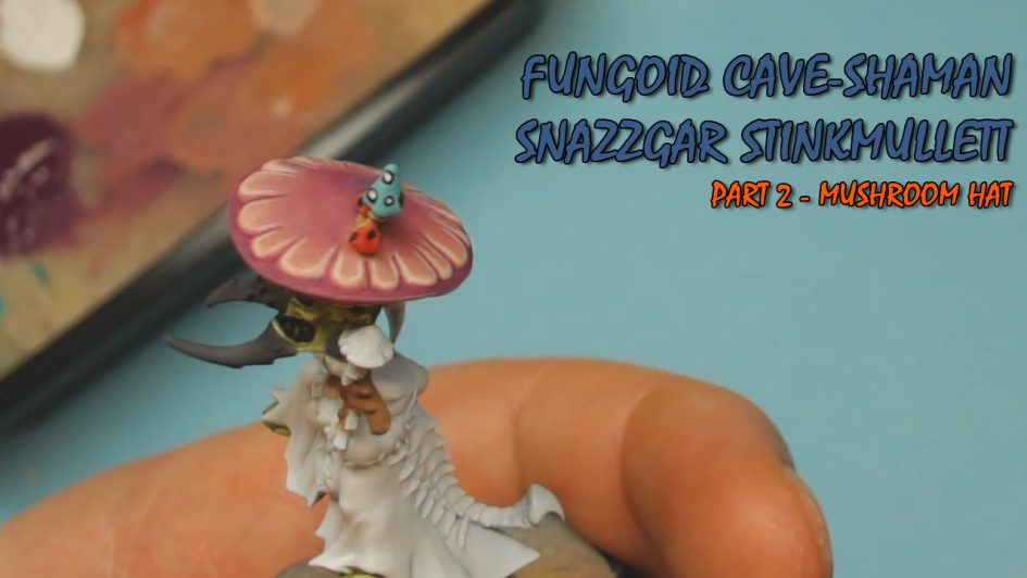 Fungoid Cave Shaman - Mushroom Hat