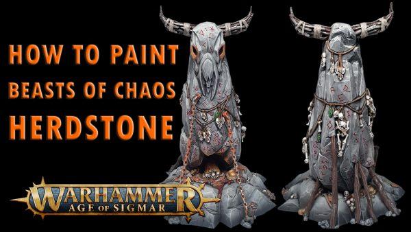 Beasts of Chaos Herdstone