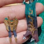 Base coated buckle and loincloth