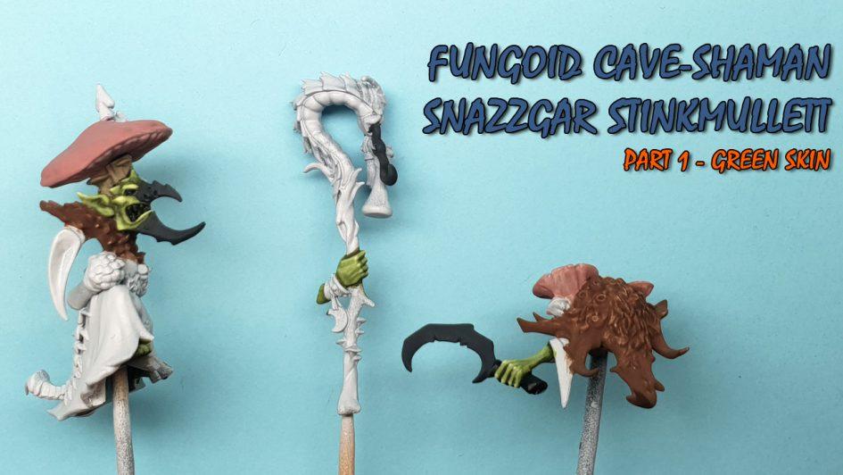 Fungoid Cave Shaman - Green Skin